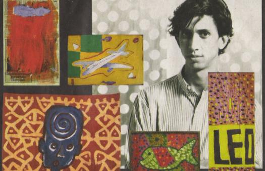 Passionate drawings of Brazilian artist José Leonilson