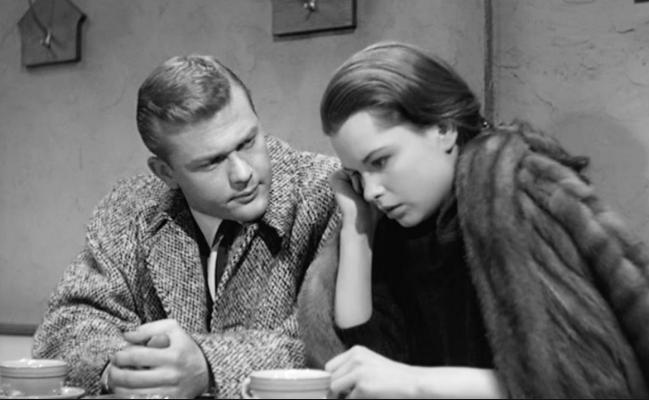 Harrison in noir Sweet Smell of Success