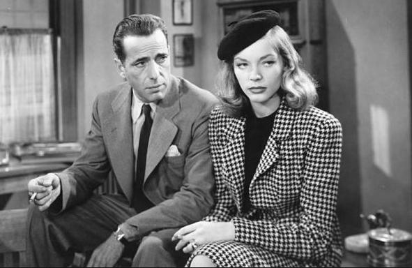Bacall in noir The Big Sleep